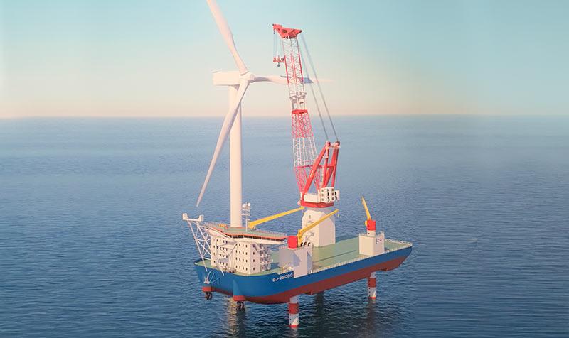 ALCONZA-Japanese-Wind-Farm-Installation-Vessel